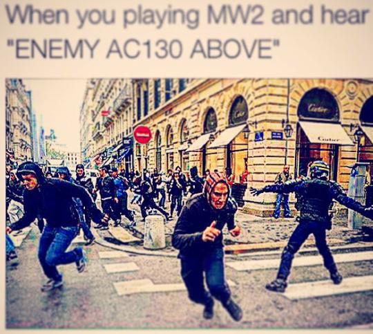 I miss mw2 - meme