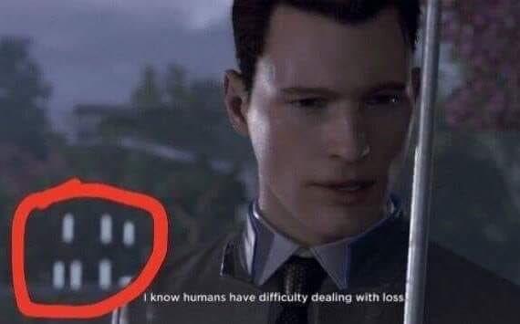 Detroit become loss - meme