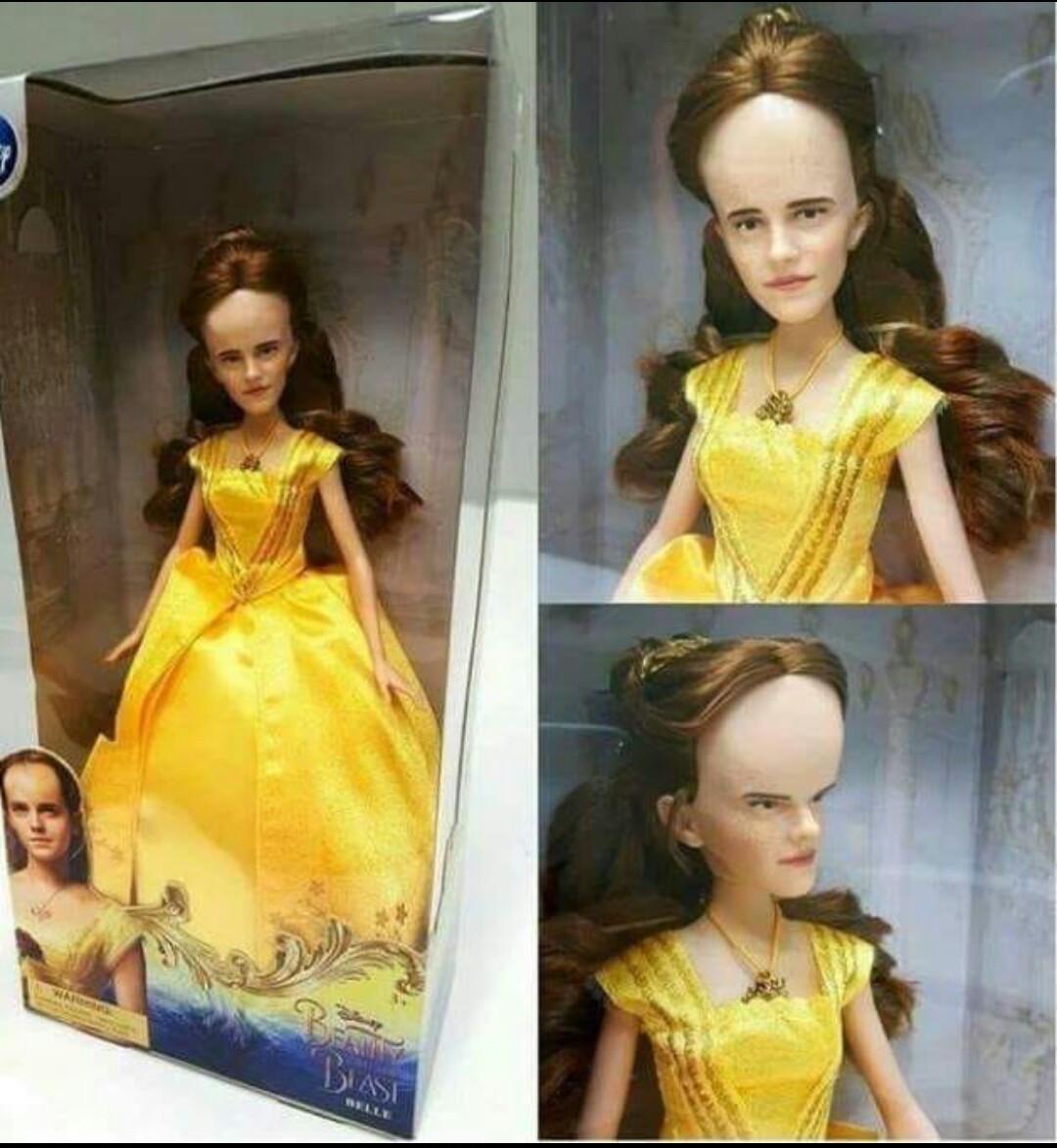 A verdadeira boneca da Larissa manoela - meme