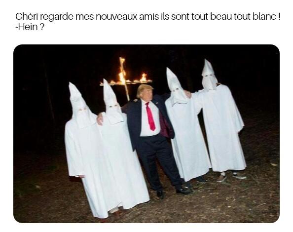 Trump et ses bro' - meme