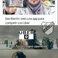 Uber vs taxi batalla legendaryyy!!!