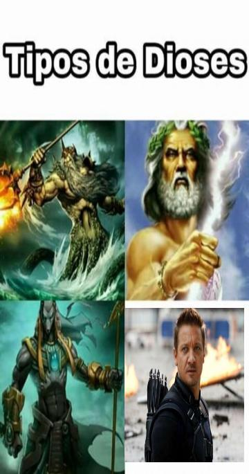 Dioses - meme