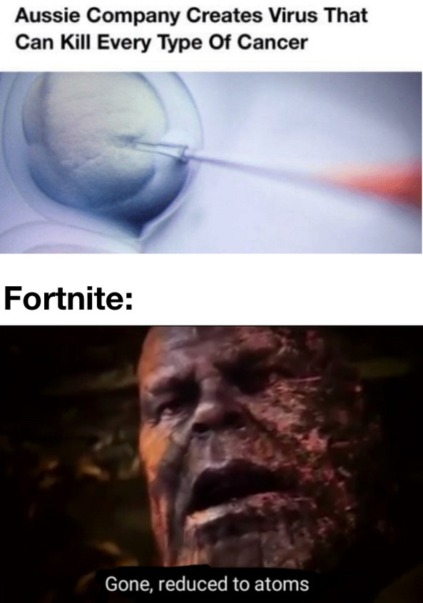 Fortnite bad - meme