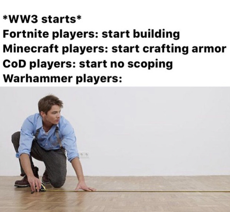 war, war must always be measured - meme