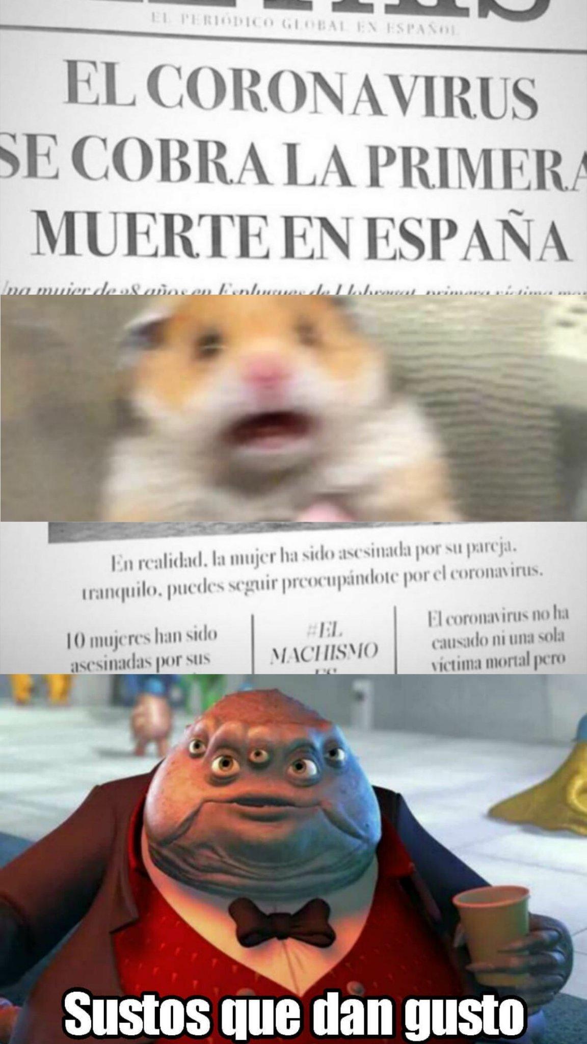 Menos mal - meme