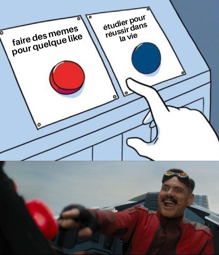 Le choix est alléchant - meme