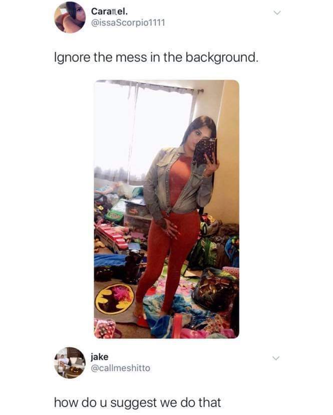 I just see only mess.... - meme