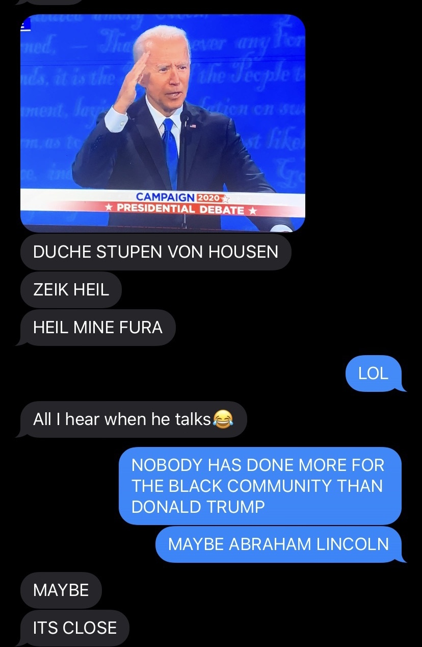 The debate was a joke - meme