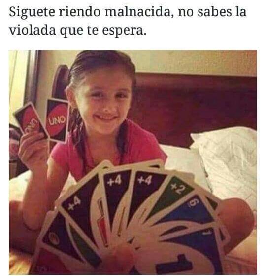 Triunfo el mal >:v - meme