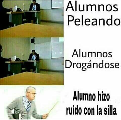 Alumnos - meme
