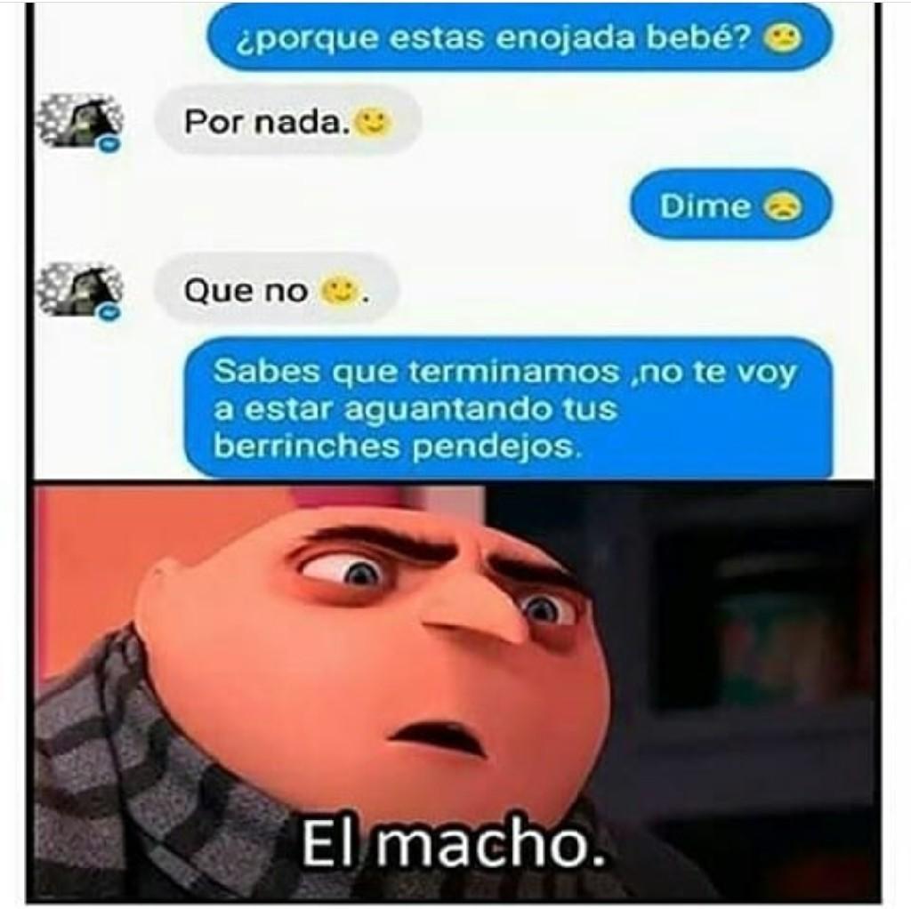 Macho - meme
