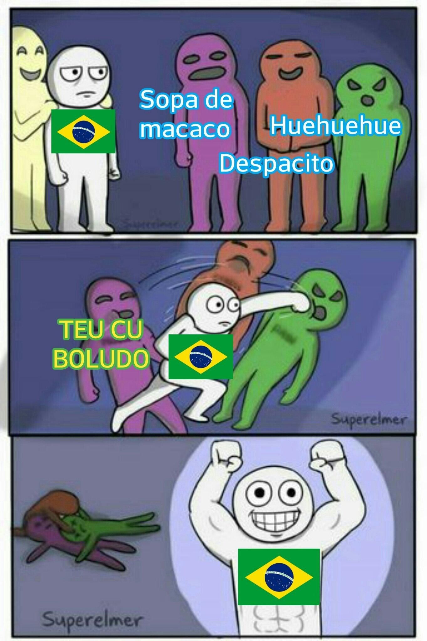 Aqui é o Brasil p@$!# - meme