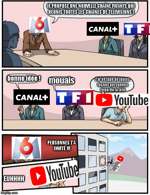 Youtube se tape l'incruste XD - meme