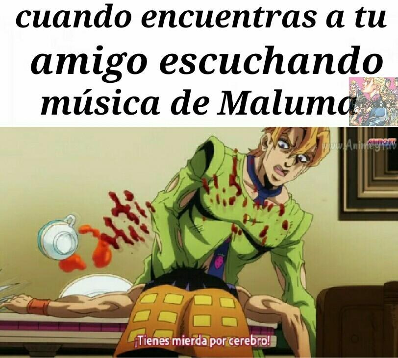 Plantilla de jojo - meme