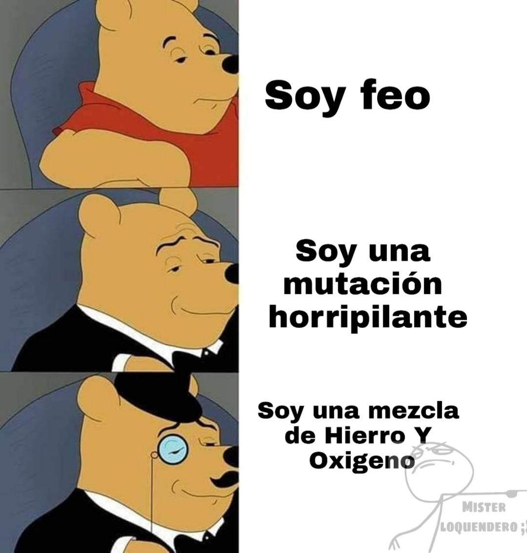 Soy feo :v - meme