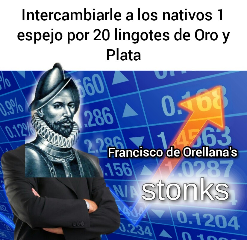 Hispania stonks - meme