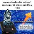 Hispania stonks