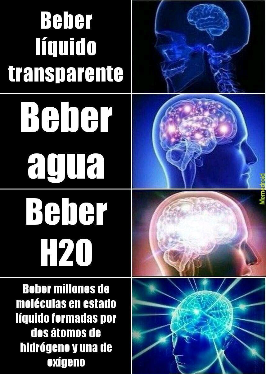 Agua-Inteligencia - meme