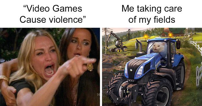 VIdeO GaMES CaUse ViOLENCe - meme
