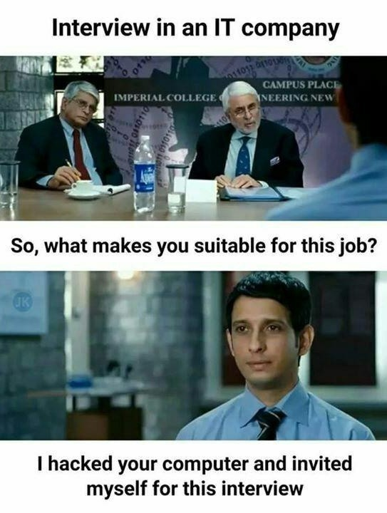 Your hired - meme