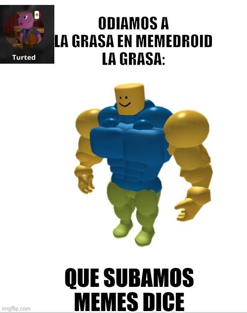 La grasa apesta - meme