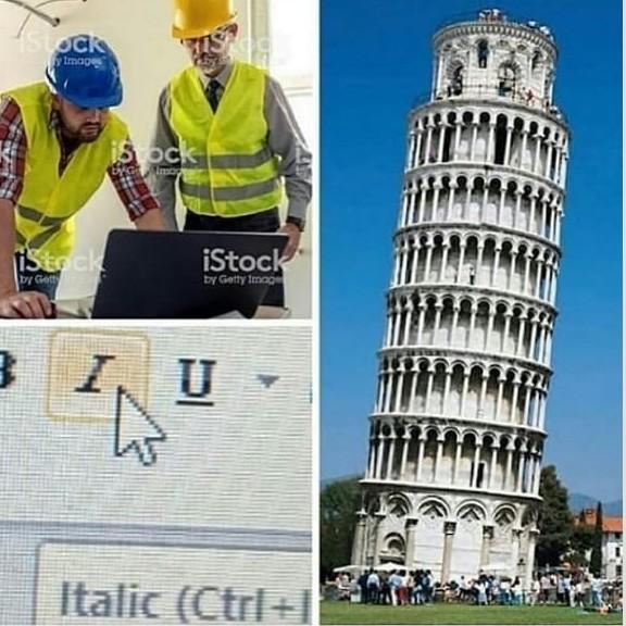 Italic - meme