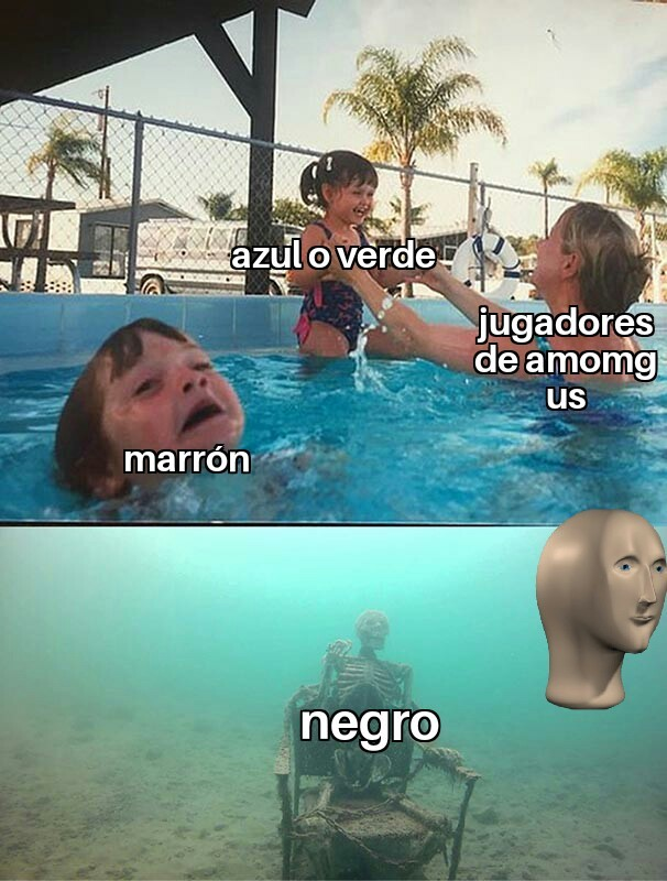 El negro - meme
