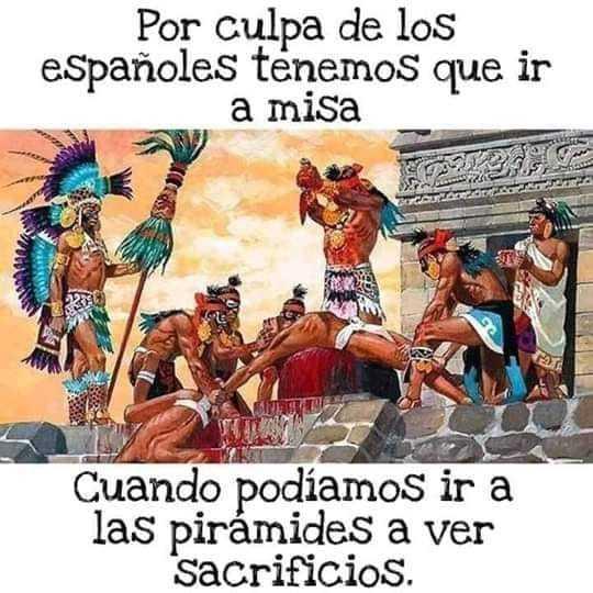 sin los españoles, todos los latinoamericanos parecerian peruanos - meme