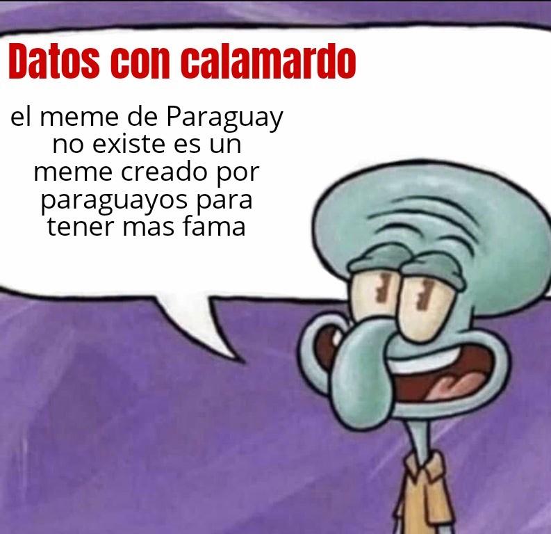 Paraguay no existe, rianse - meme