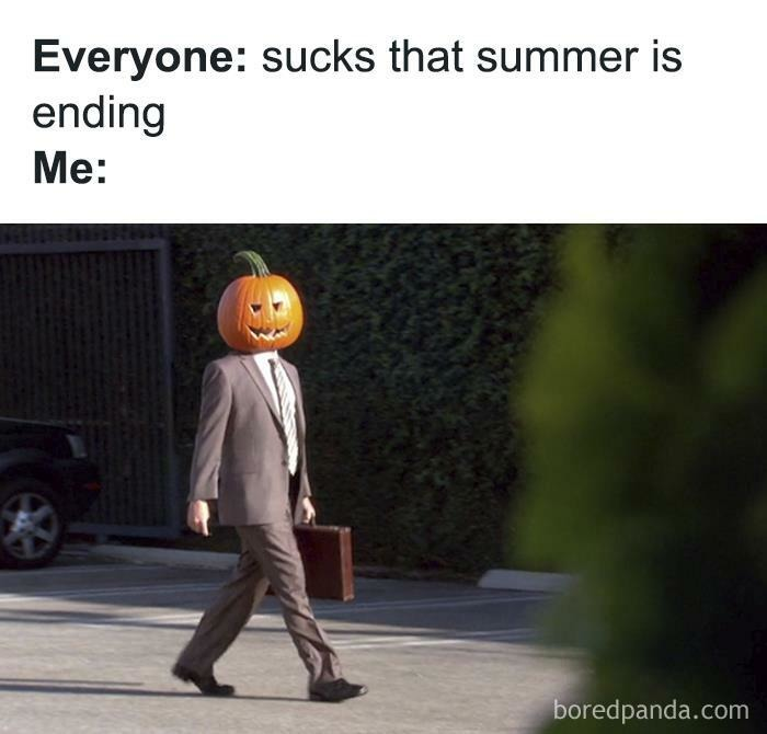 Get out of here summer - meme