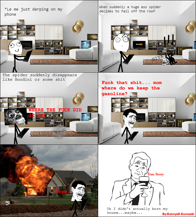 My first rage comic - meme