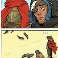 'Reaper esteve aqui' 'Como você sabe?'