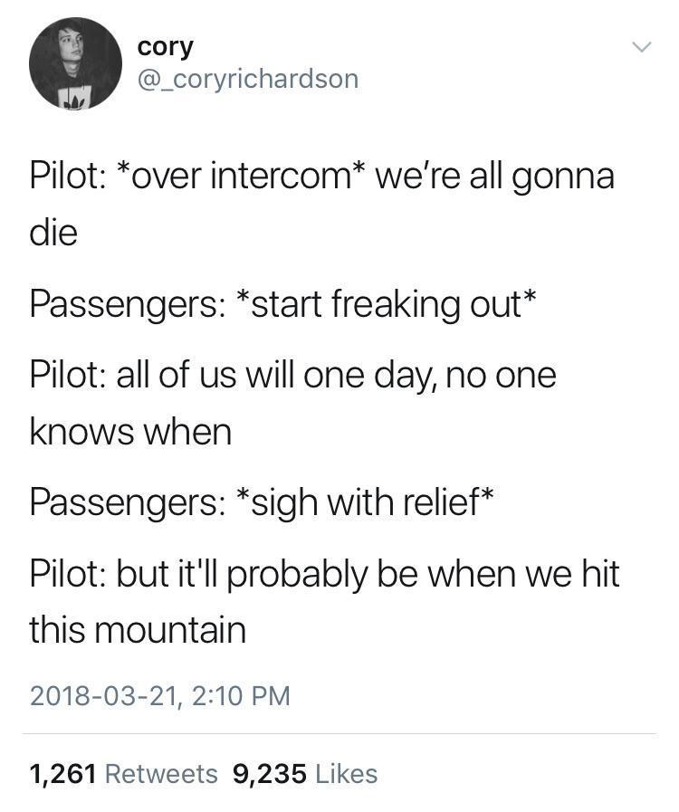 Funny pilot - meme