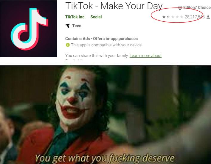 tik tok trash - meme