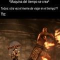 Pero kratos no lo mataría en el acto ¯\_(ツ)_/¯