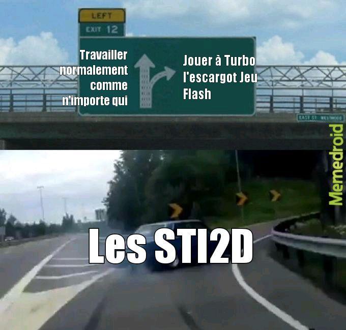 Meme spécial STI2D (by moi)