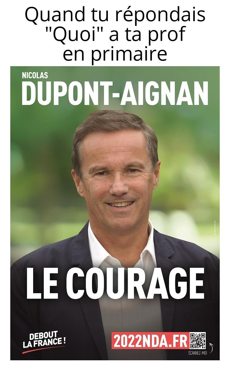 Nicolas Dupont d'Avignon - meme
