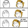 Garotas que amam videogame.