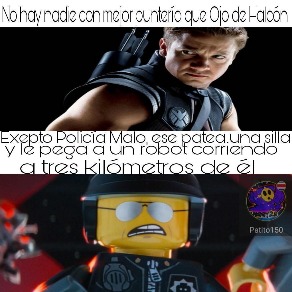 policía malo - meme