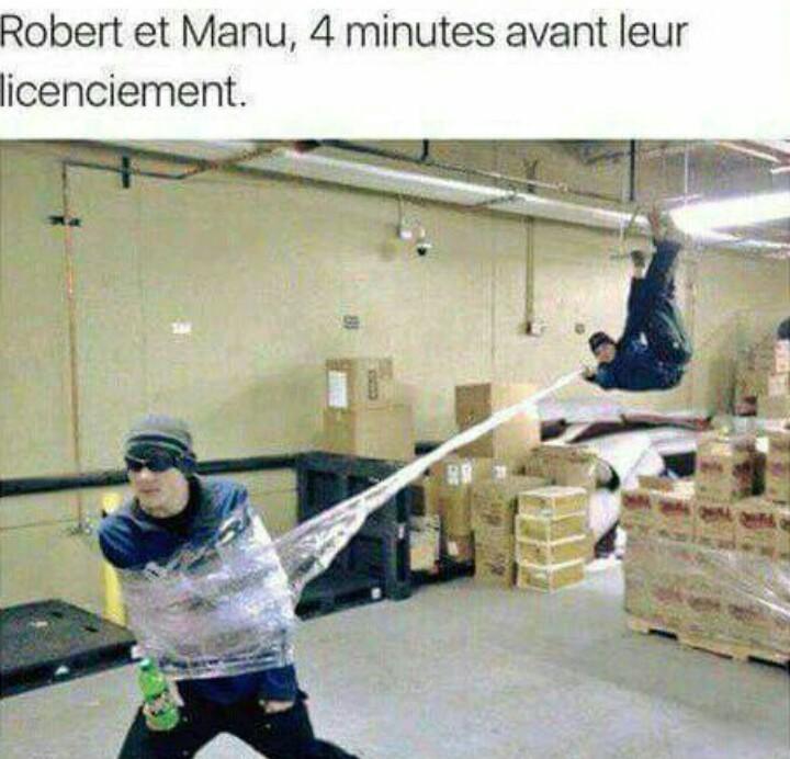 Manu et Robert - meme