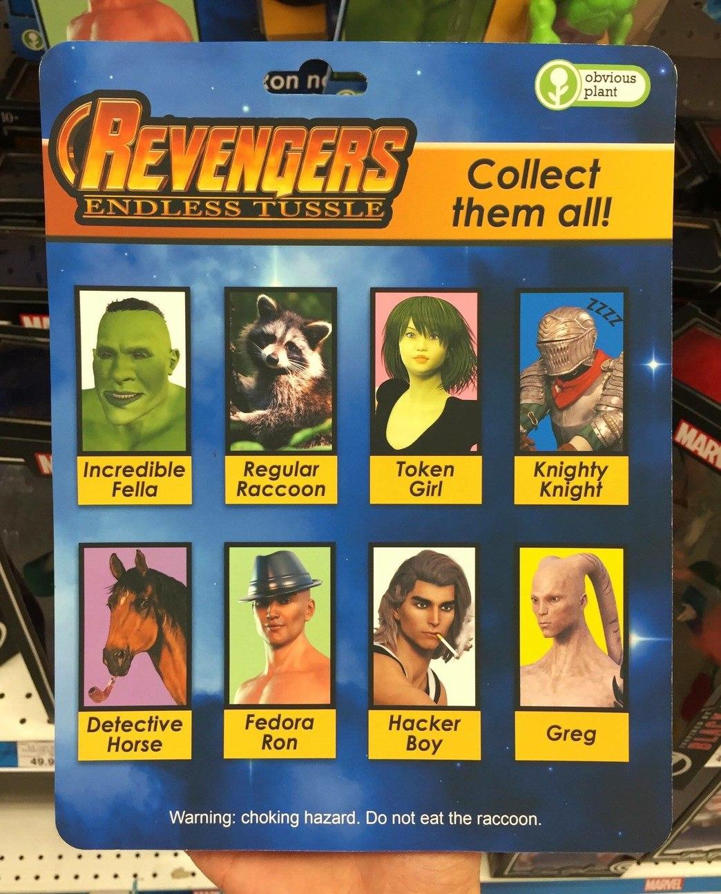 Novos Revingadores! Compre já o seu na loja mais próxima - meme