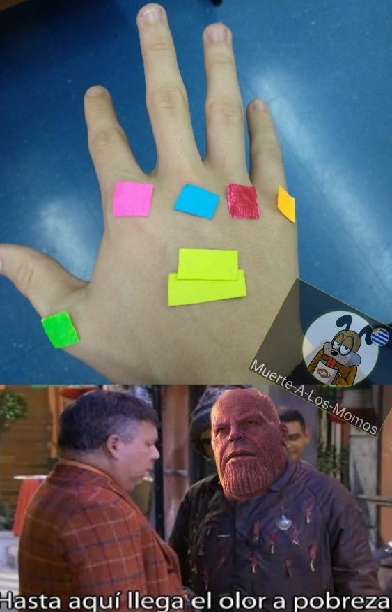 No me quiero empobrecer Sr. Stark ;-; - meme
