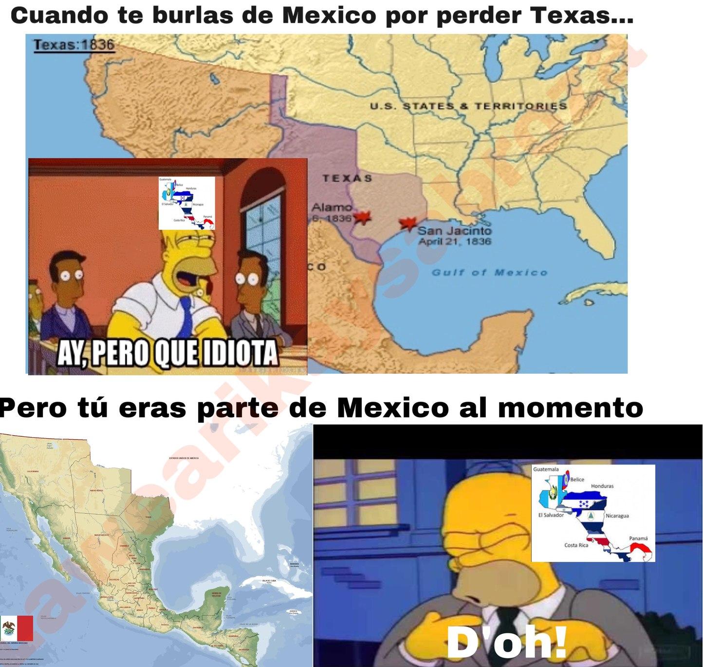 Centro America - meme