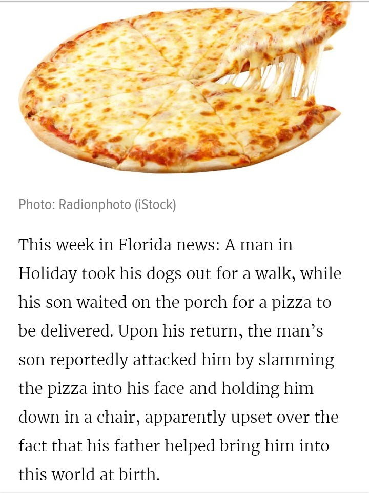 This week in Florida - meme