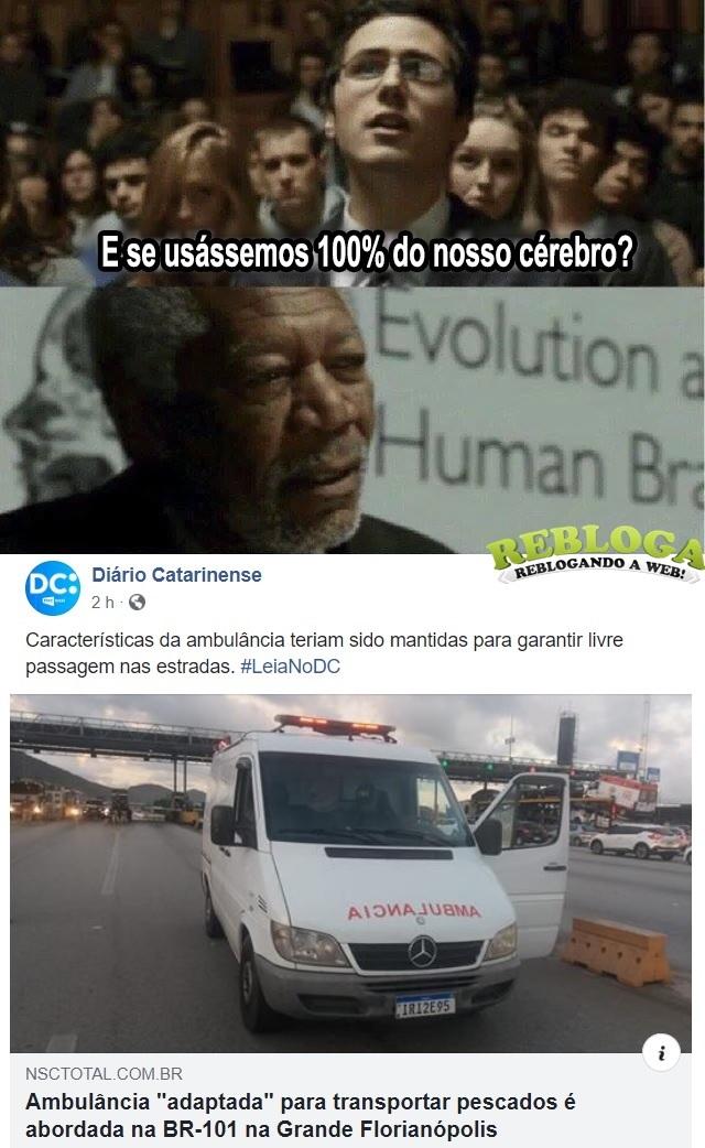 Ambulância ... - meme