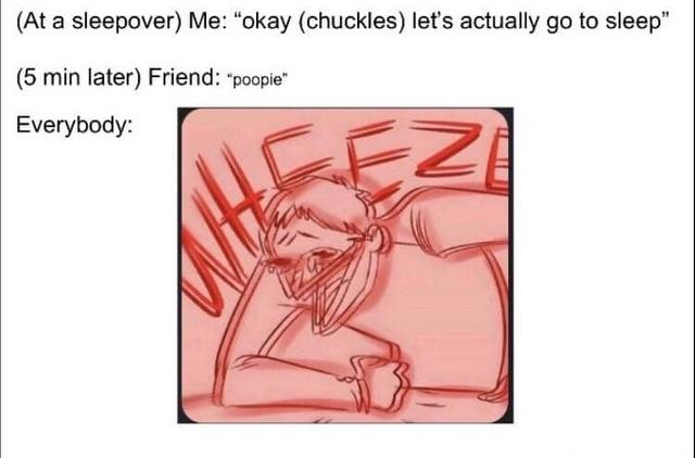 OK let's actually sleep - meme