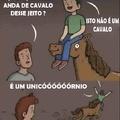 Como cavalgar um unicórnio