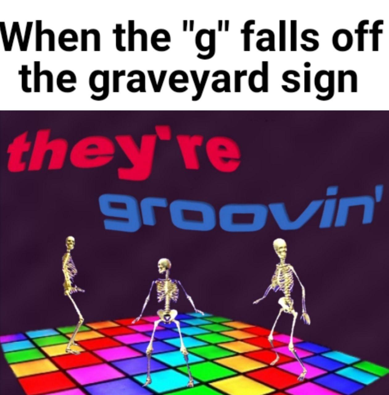 The Rave Yard ~ Courtesy of Lalotaker4 - meme