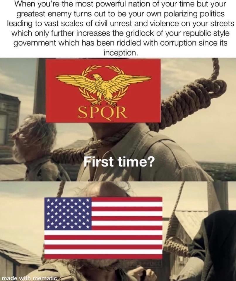 rip USA - meme