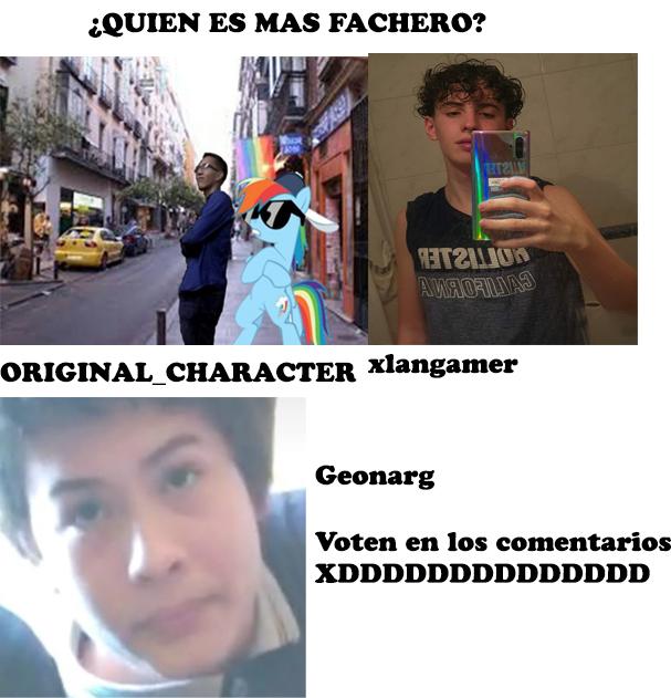 Concurso de quien tiene mas Facha abstenerse Peruanos - meme